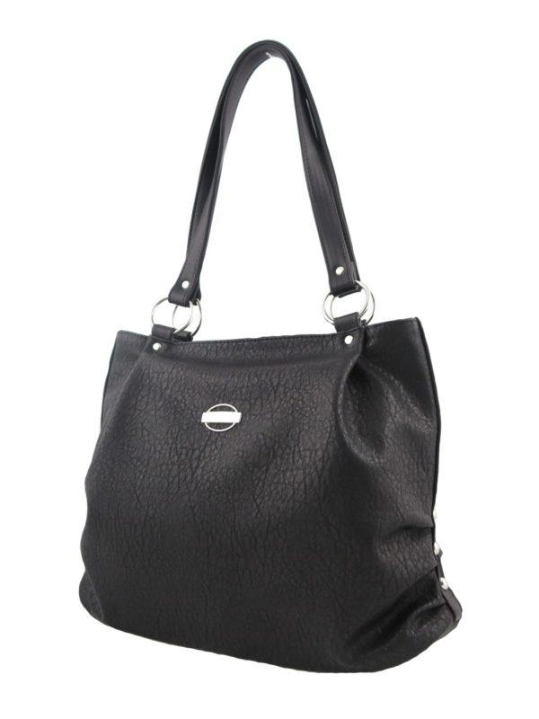 Черная сумка-мешок.