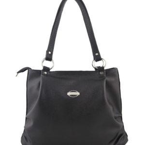 Черная сумка мешок.