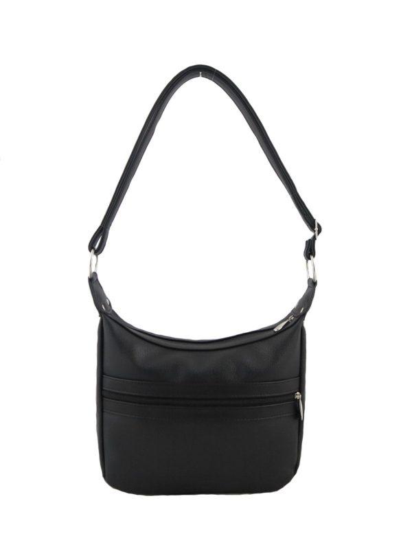 Черная сумочка кросс-боди.