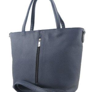 Большая синяя сумка.
