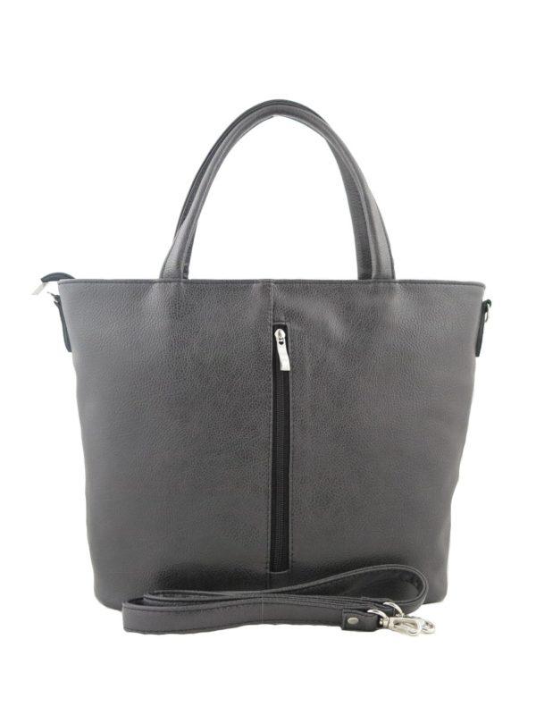 Темно-серая большая сумка.