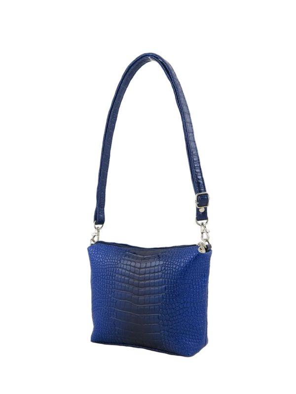 Синяя сумочка.