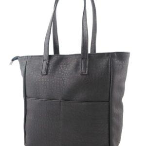 Черная сумка-шоппер.