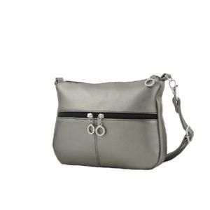 Серебряная сумка.