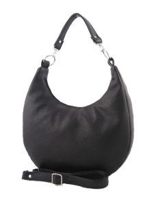 Черная сумка хобо.